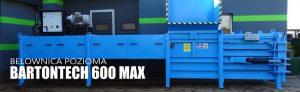 Belownica pozioma BARTONTECH 600 MAX