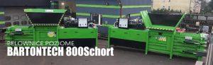 Belownica pozioma BARTONTECH 800 Schort